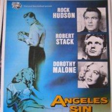 Cinéma: ANGELES SIN BRILLO - DOUGLAS SIRK - GUIA PUBLICITARIA DEL ESTRENO ROCK HUDSON DOROTHY MALONE. Lote 11123723