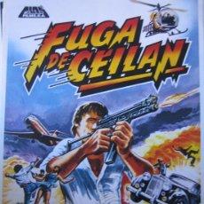 Cine: FUGA DE CEILAN - GUIA PUBLICITARIA DEL ESTRENO. Lote 11123925
