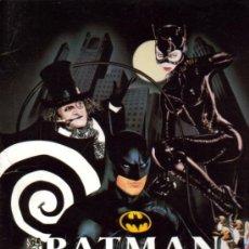 Cine: BATMAN VUELVE FOLDER (MICHAEL KEATON + MICHELLE PFEIFFER). Lote 11207067