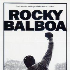 Cine: ROCKY BALBOA (GUIA ORIGINAL DOBLE) SYLVESTER STALLONE. Lote 171539083