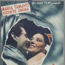 Cinema: G3048 A LA ORILLA DE UN PALMAR RAFEL SEVILLA MARIA TAMAYO GUIA ORIGINAL REY SORIA ESTRENO. Lote 12794447