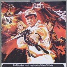 Cinéma: G3059 EL DESAFIO DE LAS AGUILAS CLINT EASTWOOD RICHARD BURTON GUIA ORIGINAL MGM ESTRENO. Lote 12794838