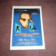 Cine: LA JAURIA DEL VICIO GUIA ORIGINAL DISEÑO JANO. Lote 13079964