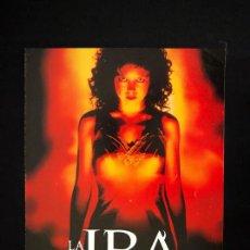 Cine: LA IRA GUIA PUBLICITARIA ORIGINAL DE ESTRENO EMILY BERGL JASON LONDON AMY IRVING. Lote 13396156