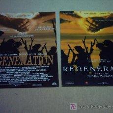 Cine: REGENERATION GUIAS ORIGINALES . Lote 13602254