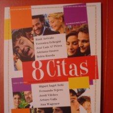 Cine: 8 CITAS, GUIA DE CINE DE 8 PAGINAS (T4). Lote 13690821