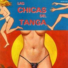 Cine: LAS CHICAS DEL TANGA (GUIA ORIGINAL SIMPLE CON FOTOS) LINA ROMAY DEL DIRECTOR DE CULTO JESUS FRANCO. Lote 244931345