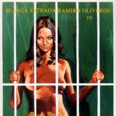 Cine: LAS LOCURAS DE JANE (GUIA ORIGINAL SIMPLE) BLANCA ESTRADA - RAMIRO OLIVEROS - HELGA LINE. Lote 143717482