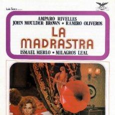 Cine: LA MADRASTRA 1974 (GUIA ORIGINAL SIMPLE) AMPARO RIVELLES - RAMIRO OLIVEROS - ISMAEL MERLO. Lote 195027293