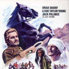 Cine: ORGULLO DE ESTIRPE 1971 (GUIA ORIGINAL ESTRENO ESPAÑA 4 PAGINAS) OMAR CHARIF - JACK PALANCE. Lote 195027196