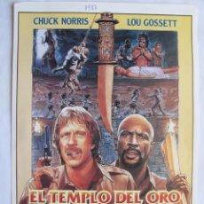 Cinema: EL TEMPLO DEL ORO 10 GUIAS A ELEGIR POR 25 EUROS. 100 GUIAS X 130 EUROS. Lote 14365807
