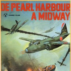 Cine: DE PEARL HARBOUR A MIDWAY ( GUIA ORIGINAL SIMPLE) TOSHIRO MIFUNE. Lote 14607967