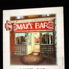 Cine: MAX'S BAR GUIA ORIGINAL DE ESTRENO JOHN SAVAGE , DAVID MORSE , DIANA SCARWID . Lote 14983819