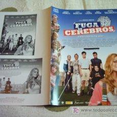 Cine: FUGA DE CEREBROS GUIA ORIGINAL. Lote 32406579