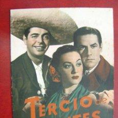 Cine: ANTIGUA GUIA CIFESA - TERCIO DE QUITES - MARIO CABRE, ANTONIO BADU, LINA ROSALES. Lote 22974653