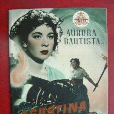 Cine: ANTIGUA GUIA CIFESA - AGUSTINA DE ARAGON - AURORA BAUTISTA, FERNANDO REY. Lote 27368383