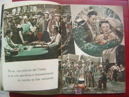 Cine: ANTIGUA GUIA CIFESA - 4 PELICULAS - CALIFORNIA, CIELO AZUL, CAMINO DE RIO, EL CASTILLO DEL ODIO - Foto 4 - 27228153