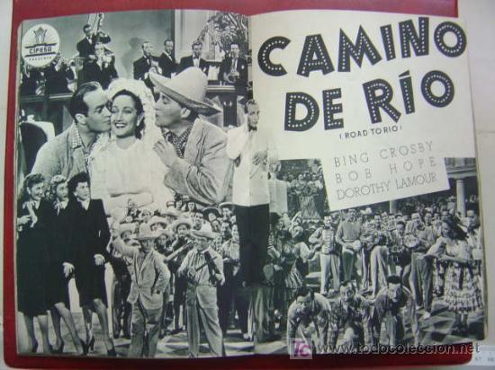 Cine: ANTIGUA GUIA CIFESA - 4 PELICULAS - CALIFORNIA, CIELO AZUL, CAMINO DE RIO, EL CASTILLO DEL ODIO - Foto 8 - 27228153