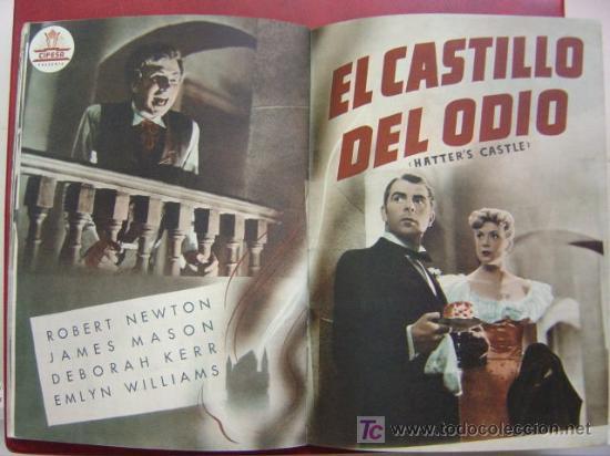 Cine: ANTIGUA GUIA CIFESA - 4 PELICULAS - CALIFORNIA, CIELO AZUL, CAMINO DE RIO, EL CASTILLO DEL ODIO - Foto 11 - 27228153