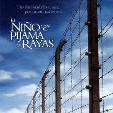 Cinema: EL NIÑO CON EL PIJAMA DE RAYAS (GUIA ORIGINAL DOBLE DE SU ESTRENO EN ESPAÑA) ASA BUTTERFIELD. Lote 27284565