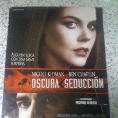 Cine: 'OSCURA SEDUCCIÓN', CON NICOLE KIDMAN.. Lote 16565472
