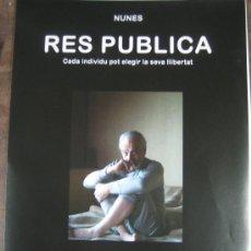Cine: RES PUBLICA JOSE MARIA NUNES - GUIA PUBLICITARIA ORIGINAL ESTRENO JOSE MARIA BLANCO BELEN FABRA. Lote 19708309