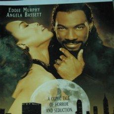 Cine: VAMPIRE IN BROOKLYN UN VAMPIRO SUELTO EN BROOKLIN - EDDIE MURPHY ANGELA BASSETT - GUIA ORIGINAL USA. Lote 17181201
