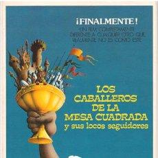 Cine: G3584 CABALLEROS DE LA MESA CUADRADA Y SUS LOCOS SEGUIDORES MONTY PYTHON GUIA ORIGINAL CIC ESTRENO. Lote 17606244