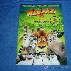 Cine: MADAGASCAR 2. GUIA PUBLICITARIA SENCILLA.. Lote 17866548