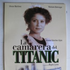 Cine: LA CAMARERA DEL TITANIC. Lote 47601948