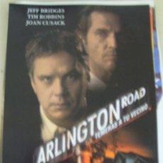 Cine: ¡OCASION! GUIA PUBLICITARIA ARLINGTON ROAD. Lote 18930433