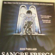 Cine: OPORTUNIDAD GUIA PUBLICITARIA SANGRE FRESCA. Lote 23642599