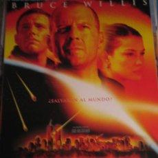 Cine: ARMAGEDDON - BRUCE WILLIS - GUIA PUBLICTARIA LOTE 20 GUIAS AÑOS 90 Y 2000 A 30 EUROS . Lote 19383372