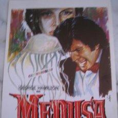 Cine: MEDUSA - GEORGE HAMILTON - GUIA PUBLICIARIA ORIGINAL DEL ESTRENO. Lote 19400715
