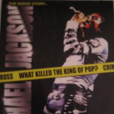 Cine: WHAT KILLED THE KING OF POP - MICHAEL JACKSON - GUIA PUBLICITARIA ORIGINAL . Lote 19656408