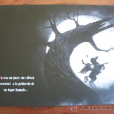 Cine: SLEEPY HOLLOW - JOHNNY DEEP, CHRISTINA RICCI - DIR. TIM BURTON - GUIA ORIGINAL TRI PICTURES AÑO 1999. Lote 176513338