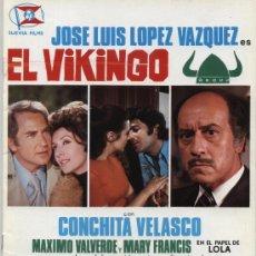 Cine: EL VIKINGO. GUÍA DE SUEVIA FILMS.. Lote 20141833