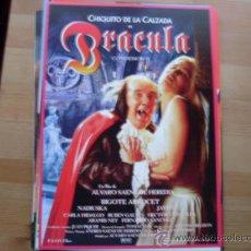 Cine: BRACULA CONDEMOR II - CHIQUITO,NADIUSKA,BIGOTE ARROCET,CARLA HIDALGO - GUIA ORIGINAL BUENAVISTA 1997. Lote 194730711