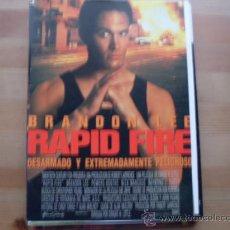 Cine: RAPID FIRE ( BRANDON LEE ). Lote 20243429