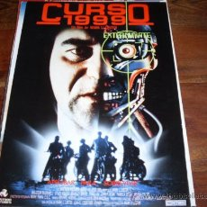 Cine: CURSO 1999 ( MALCOLM MCDOWELL Y PAM GRIER ). Lote 24376652
