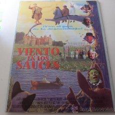 Cine: VIENTO EN LOS SAUCES ( ERIC IDLE Y TERRY JONES ACTOR-DIRECTOR ) . Lote 20550034