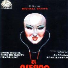 Cine: EL ASESINO DE MUÑECAS 1975 (GUIA ORIGINAL SIMPLE)TERROR ESPAÑOL DAVID ROCHA-INMA DE SANTY-HELGA LINE. Lote 218122145