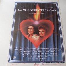 Cine: HAY QUE DESHACER LA CASA ( AMPARO RIVELLES Y AMPARO SOLER LEAL ). Lote 20582482