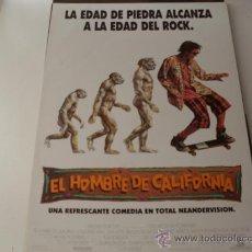 Cine: EL HOMBRE DE CALIFORNIA - SEAN ASTIN, BRENDAN FRASER, ROBIN TUNNEY - GUIA ORIGINAL WARNER AÑO 1992. Lote 195427712