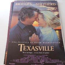 Cine: TEXASVILLE ( JEFF BRIDGES Y CYBILL SHEPHERD ). Lote 20587785