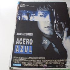 Cine: ACERO AZUL - JAMIE LEE CURTIS,RON SILVER - DIR.KATHRYN BIGELOW - GUIA ORIGINAL TRI PICTURES AÑO 1989. Lote 20607164