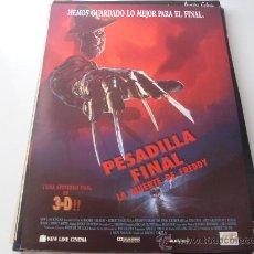Cine: PESADILLA FINAL LA MUERTE DE FREDDY ( ROBERT ENGLUND ). Lote 20624508