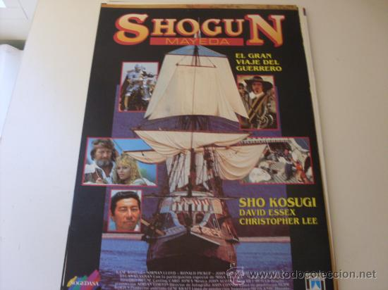 SHOGUN MAYEDA - CHRISTOPHER LEE, DAVID ESSEX - GUIA ORIGINAL (Cine - Guías Publicitarias de Películas )