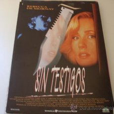 Cine: SIN TESTIGOS - REBECCA DE MORNAY, RUTGER HAUER, RON SILVER- GUIA ORIGINAL ARABA AÑO 1993. Lote 20691357