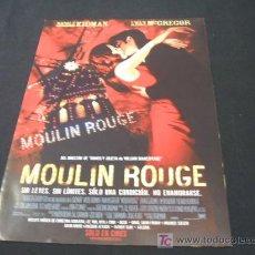 Cine: MOULIN ROUGE - NICOLE KIDMAN - . Lote 20949172